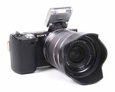 Sony Alpha NEX-5 14.2 MP Digital Camera - Black (Kit with 18-55mm OSS Lens)