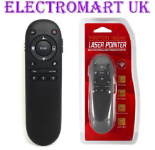 2.4GHZ WIRELESS REMOTE CONTROL LASER POINTER WITH TOUCH PAD AIR MOUSE