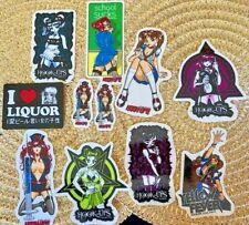 Vintage Hook Ups Stickers Set of 11 Original Early 2000s Hookups