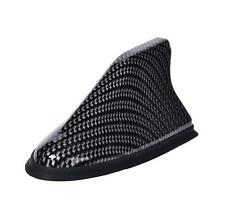 Universal New Car Roof Shark Fin Antenna AM/FM Signal Radio Aerials Carbon Fiber