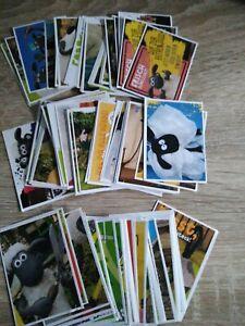Shaun das schaf shauns Sammelspass  8 Sticker Aussuchen