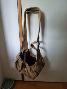Dog carrier shoulder bag