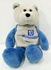 1999 Plush Bear Timberwolves #10 Szczerbiak Limited Treasures Stuffed Animal
