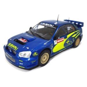 1:24 Subaru Impreza S9 WRC Solberg Wales GB Rally 2003 Ixo Salvat Diecast