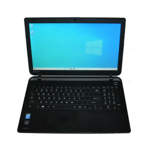 "Toshiba C50-B 15.6"" Laptop Intel i5-4200U CPU 4G RAM 500G HDD WIFI Win10 Home"