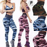 Women Camouflage Yoga Pants High Waist Gym Sport Workout Fitness Leggings Pants