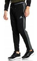 ADIDAS mens track pants joggers gym bottoms trousers XL black/grey generous fit