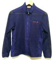 Merrell Womens Purple Mesh Lightweight Long Sleeve Zip Top Jacket Size Medium M
