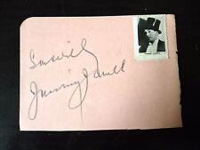 JIMMY JAMES - LEGENDARY MUSIC HALL COMEDIAN - SIGNED VINTAGE ALBUM PAGE