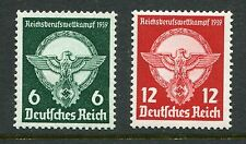 GERMANY 1939 EAGLE BUSINESS MNH Set 2 Stamps