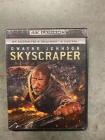 SKYSCRAPER 4K ULTRA HD/BLU-RAY/DIGITAL NEW Dwayne Johnson