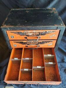 "Vintage Dorman Products Cincinnati, OH - 4 Drawer Shop Cabinet - 17""x16.5""x13"""