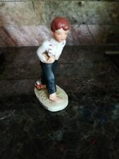 "Vintage Norman Rockwell ""Redhead"" Off To School Figurine By Dave Grossman 1979"