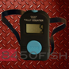 Digital Tally Counter - Hand Held  - for golf, inventory, laps, etc