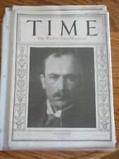 Time Magazine March 23, 1925 Eduard Benes