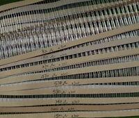 DZ00 900 Stk. Widerstände Resistors Sortiment 1/6W aus 9 Werten 82-1500 Ohm Set