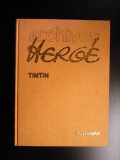 Archives Hergé Tome 1 Tintin Tim Kuifje