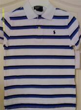 Polo Ralph Lauren NWT Short Sleeve Striped Mesh Polo Size 6