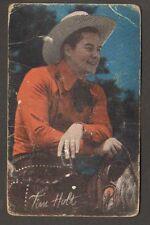 Vintage Tim Holt Photo Arcade Card
