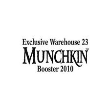 Munchkin Exclusive Warehouse 23 2010 Booster Pack Steve Jackson Games New