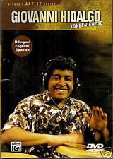Giovanni Hidalgo-CONGA VIRTUOSO English/Spanish 90m DVD