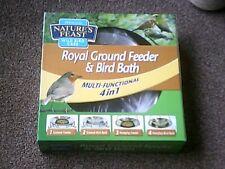 2 x Nautres Feast Royal Ground Feeder & Bird Bath