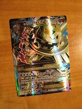 EX FULL ART Pokemon Mega M STEELIX EX Card STEAM SIEGE Set 109/114 XY X and Y