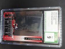 Michael Jordan 1993 Upper Deck TD2 CSG 9 Mint Triple Double 3-D STANDOUTS BULLS