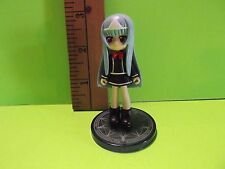"#A36 Unknown Anime 3""in Baby Blue Hair Girl in Black Dress Red Bow Tie"