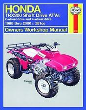 Haynes Manual 2125 - Honda TRX300 Shaft Drive ATV/Quads M2125