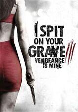 I Spit on Your Grave 3 Vengeance Is Mine (2015) R1 DVD