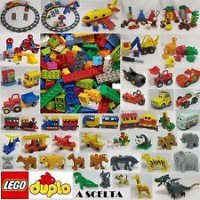 LEGO ® DUPLO MATTONCINI 1 KG SFUSI ANIMALI SET VEICOLI TRENI e PARTI A SCELTA