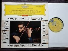 DG 138678 Mozart Violin Concerto N 4-5 Schneiderhan - GERMAN RED STEREO NM