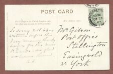 Bournemouth 1904,  Mrs Gibson  Post Office   Stillington   Easingwold    AH306