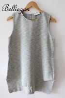 SCANLAN THEODORE Crepe Contrast Silk TOP Size 12