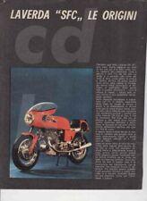 advertising Pubblicità brochure-TEST LAVERDA 750 SFC '72  MAXIMOTO MOTOITALIANE