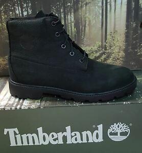 Timberland 6 Inch BLACK Newman 1973  Waterproof logo Boots rrp £120