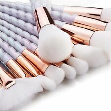 10pcs Make Up Brush Set Cosmetic Brushes for Foundation Eyebrow Eyeliner Bright-