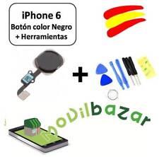 BOTON HOME FLEX IPHONE 6 Y 6+ PLUS NEGRO CON HERRAMIENTAS. ENVÍO DESDE ESPAÑA