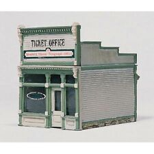 Woodland Scenics D222 HO-Scale KIT Ticket Office / Old Western Union Telegraph