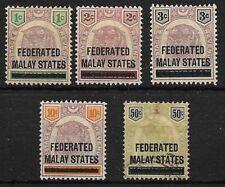 MALAWI. CONJUNTO DE 5 SELLOS