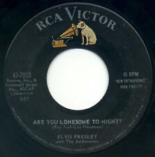 """ELVIS PRESLEY Are You Lonesome To-Night?/I Gotta Know 7"""" 1960 RCA Victor VG"""