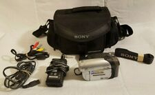 Sony HandyCam DCR-DVD92 with Cary Case, Power Adapter/Charger - NightShot Plus