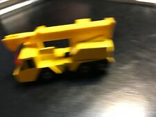 Lesney Matchbox Crane Truck 1976 Yellow
