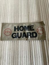 More details for original ww2 home guard g.p.o post office armband .