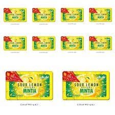 Asahi Mintia Strong Breath Mints: 10 X Sour Lemon. Fast Free Shipping