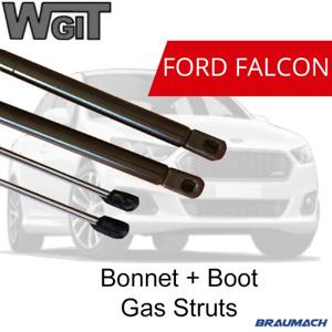 GAS STRUTS BONNET & BOOT for FORD FALCON SEDAN EA EB ED EF EL (2x New Pair)