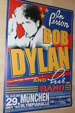Bob Dylan Tourplakat/Tourposter 2003  - Olympiahalle München