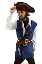Costume de pirate homme Caraïbes corsaire pirate gr. 52, L