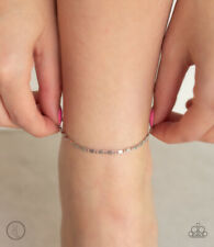 Anklet Rare New Release Summer! Paparazzi ~Sun-Kissed Radiance - Silver~